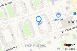 Сдается двухкомнатная квартира в Балахне Нижегородская область, улица Свердлова, 3