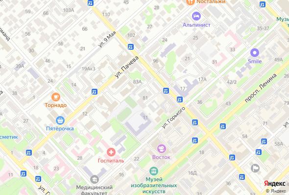 купить квартиру в ЖК по ул. Кешокова, 81