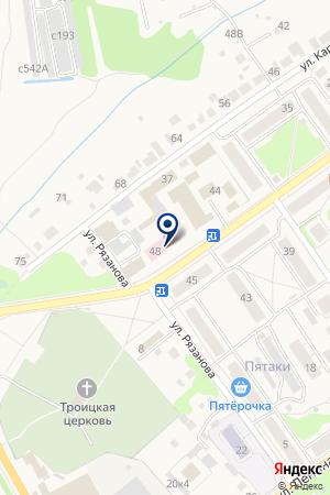 БАЛАХНИНСКАЯ ДЕТСКАЯ ПОЛИКЛИНИКА на карте Балахны