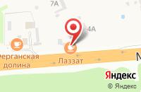 Схема проезда до компании Лаззат в Северном
