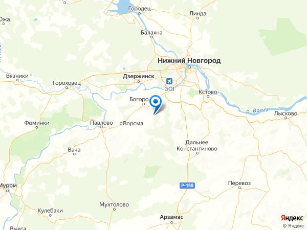 село Лакша на карте