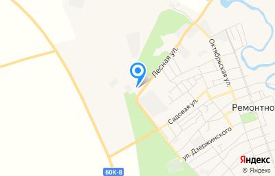Местоположение на карте пункта техосмотра по адресу Ростовская обл, с Ремонтное, ул Лесная, д 14А
