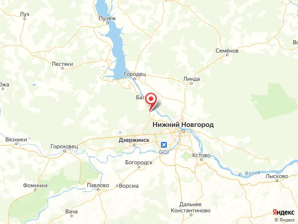 поселок городского типа Лукино на карте