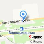 СХТ на карте Дзержинска