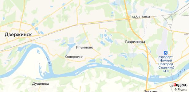 Петряевка на карте