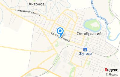 Местоположение на карте пункта техосмотра по адресу Волгоградская обл, рп Октябрьский, ул Круглякова, д 165