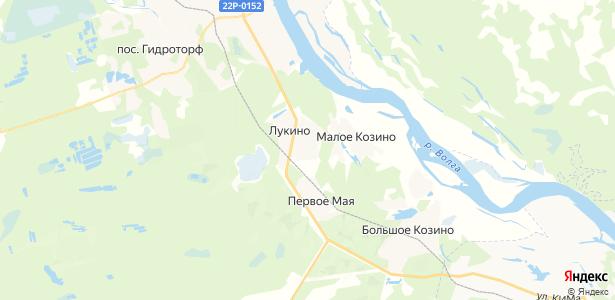 Лукино на карте