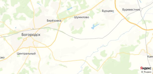 Стрелково на карте