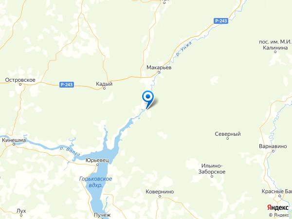 поселок Первомайка на карте