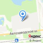 Даниели Волга на карте Дзержинска