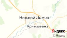 Отели города Нижний Ломов на карте