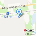 Авиабор на карте Дзержинска