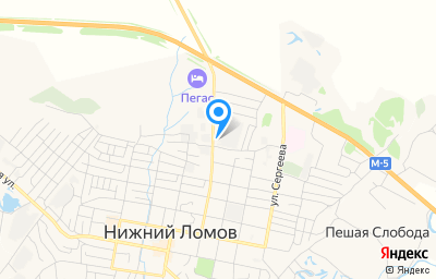 Местоположение на карте пункта техосмотра по адресу Пензенская обл, г Нижний Ломов, ул Карла Маркса, влд 66