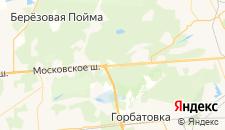 Отели города Строителей на карте