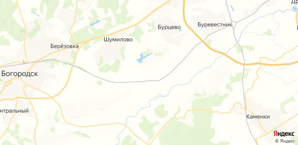Ефимьево на карте