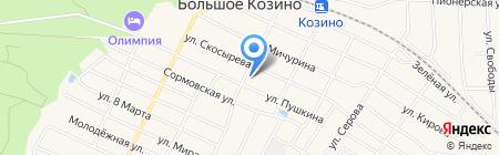 EMS Почта России на карте Большого Козино