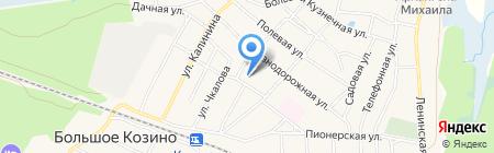 Детский сад №35 на карте Большого Козино