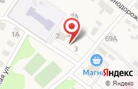 Схема проезда до компании Волго-Вятский банк Сбербанка России в Большом Козино