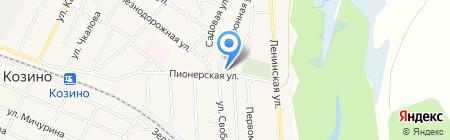 Магазин стройматериалов на Телефонной на карте Большого Козино