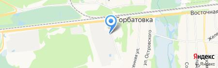 ДосГорАвтосервис на карте Горбатовки