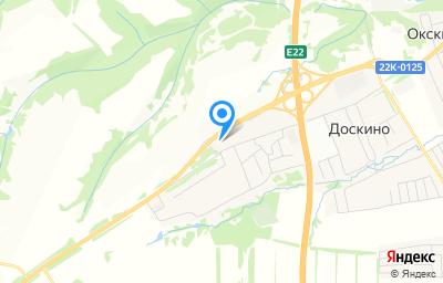 Местоположение на карте пункта техосмотра по адресу Нижегородская обл, Богородский р-н, с Доскино, ул Магистральная, д 44А