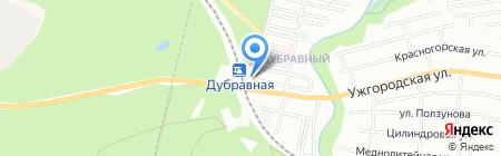 ПроКрепёж на карте Нижнего Новгорода