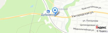 Рандеву на карте Нижнего Новгорода