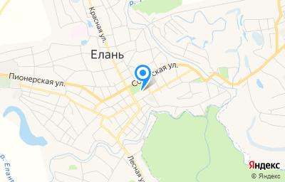 Местоположение на карте пункта техосмотра по адресу Волгоградская обл, рп Елань, ул Ленинская, д 70В