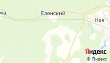 Отели города Великово на карте