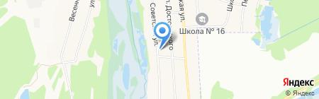 Горбатовский фельдшерско-акушерский пункт на карте Горбатовки
