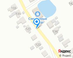 Схема местоположения почтового отделения 607256