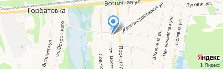 Норма на карте Горбатовки