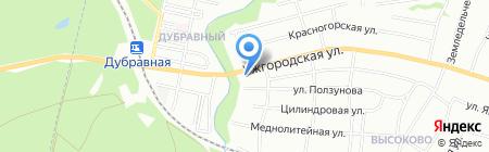 Рик на карте Нижнего Новгорода