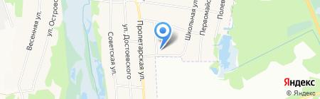 Средняя общеобразовательная школа №16 на карте Горбатовки