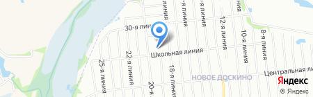 Средняя общеобразовательная школа №145 на карте Нижнего Новгорода