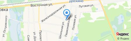 Почтовое отделение на карте Горбатовки