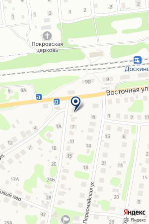 БЕРЕЗОВСКИЙ ДОМ КУЛЬТУРЫ на карте Нижнего Новгорода