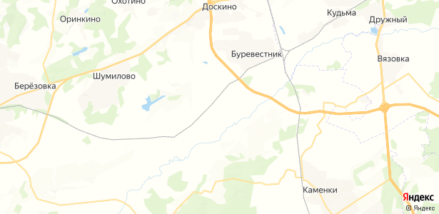 Копнино на карте