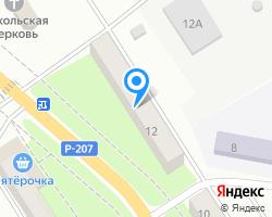 Схема местоположения почтового отделения 412033