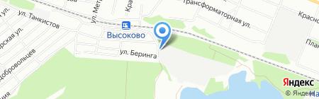 Комплектстрой на карте Нижнего Новгорода
