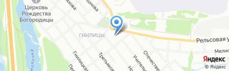 Основная общеобразовательная школа №16 на карте Нижнего Новгорода