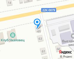 Схема местоположения почтового отделения 607247