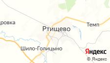 Гостиницы города Ртищево на карте