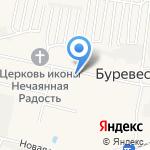 Почтовое отделение на карте Нижнего Новгорода