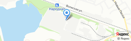 Краснобаковские молочные продукты на карте Нижнего Новгорода