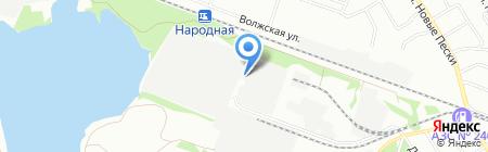 Тонплюс на карте Нижнего Новгорода
