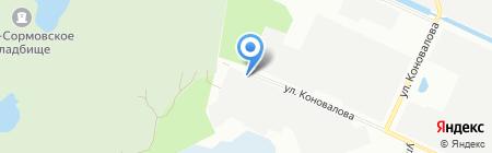 Экспресс НН на карте Нижнего Новгорода