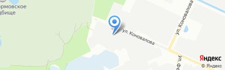 АВАНГАРД на карте Нижнего Новгорода