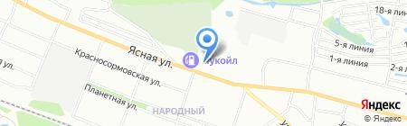 Банкомат АКБ САРОВБИЗНЕСБАНК на карте Нижнего Новгорода