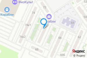Однокомнатная квартира в Нижнем Новгороде м. Буревестник, проспект Кораблестроителей, 70